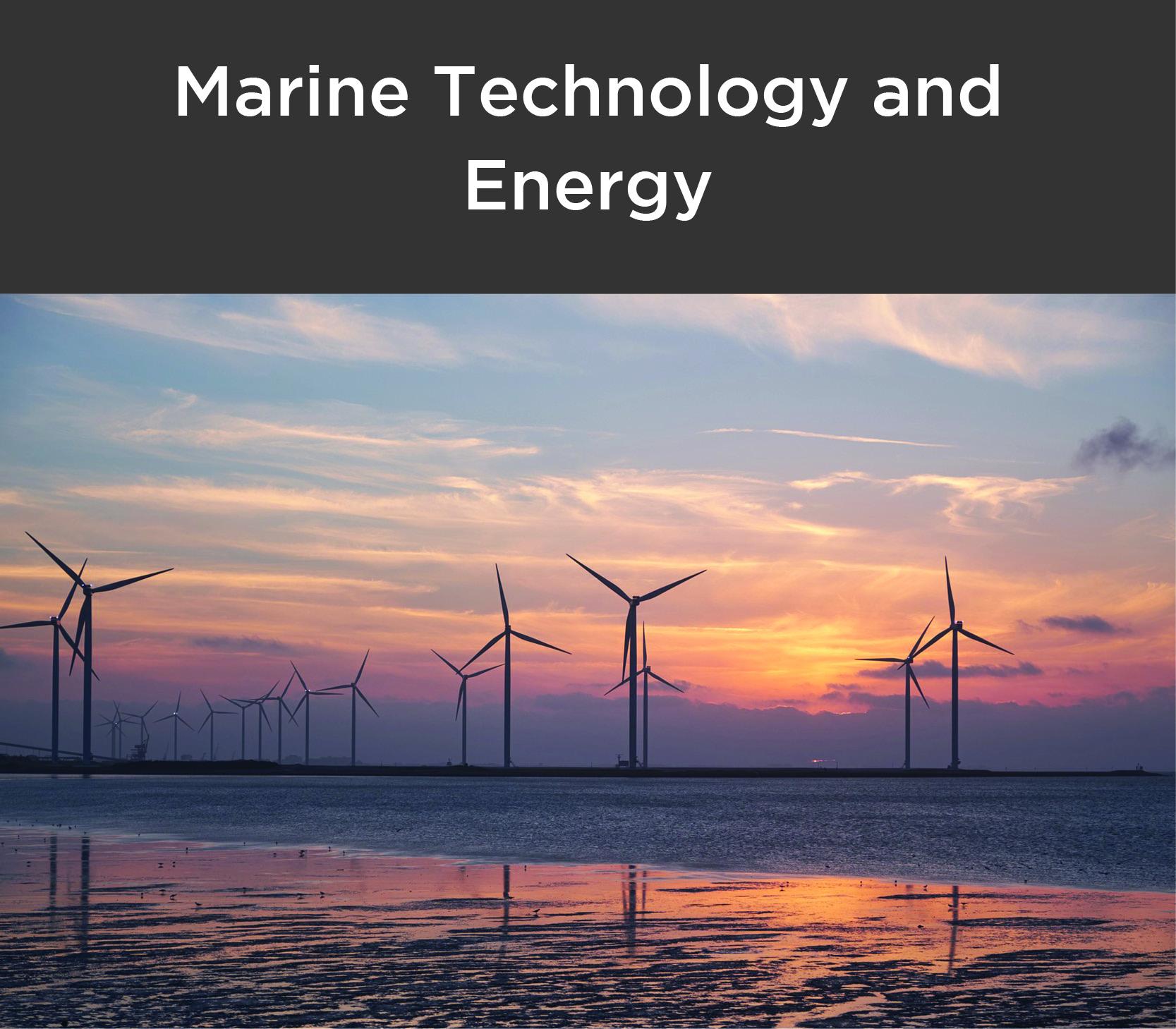 Sector marine technology & energy